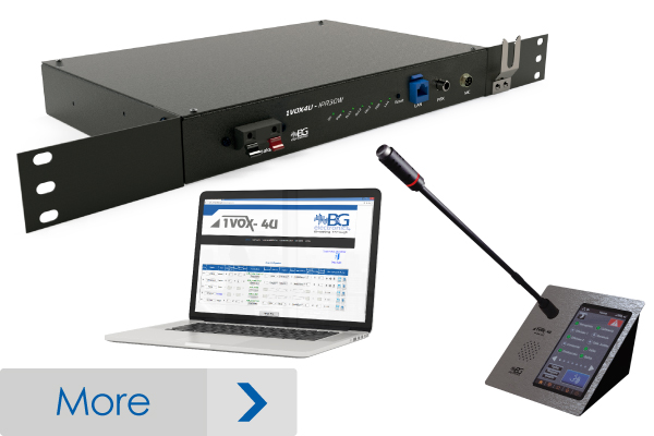 Audio System for Companies 1VOX4U-P04