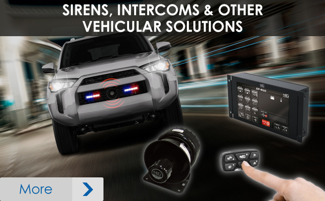 Intercoms - Vehicle Solutions